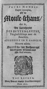 Hondius, De Moufe-schans